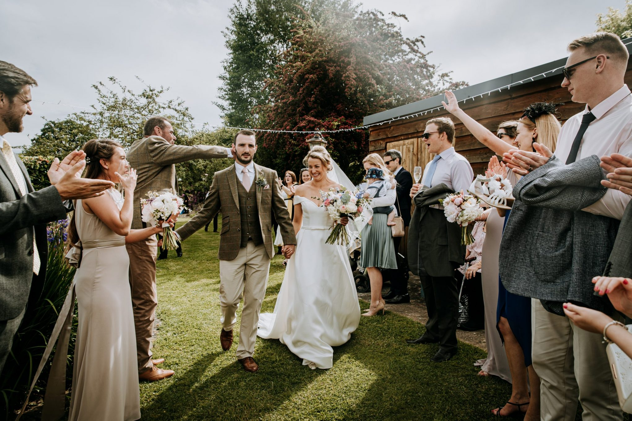 relaxed fun documentary wedding photography